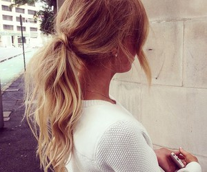 autumn, hair style, and fashion image
