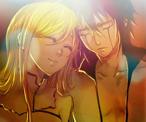bleach, couples, and Orihime image