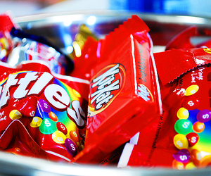 candy, skittles, and kit kat image