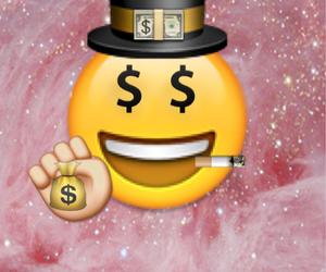 background, money, and emoji image