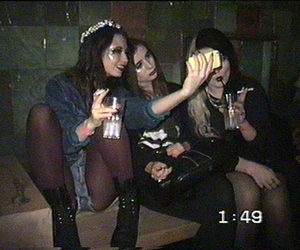 grunge, friends, and alcohol image