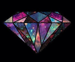 diamond and galaxy image