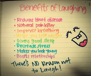 laugh, quote, and smile image