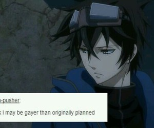 anime, lol, and gareki image