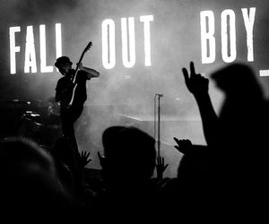 fall out boy, band, and music image