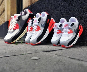 shoes, family, and nike image