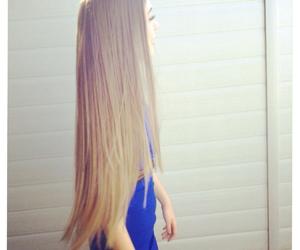hair, long, and beautiful image