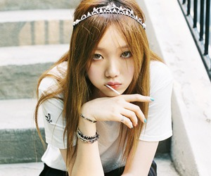 beauty, model, and lee sung kyung image