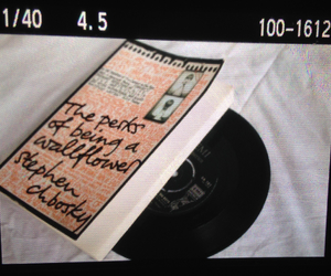 book, grunge, and record image