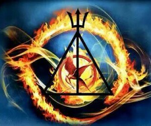 divergent, harry potter, and hunger games image