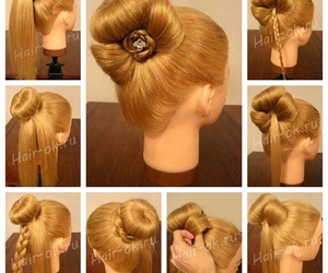 Easy and diy hairstyle image