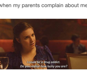 parents, funny, and lucky image