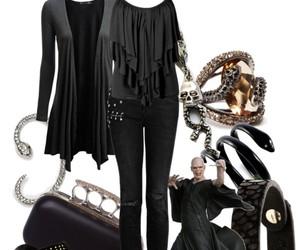 harry potter, look, and outfit image