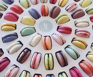 chocolate, food, and macarons image