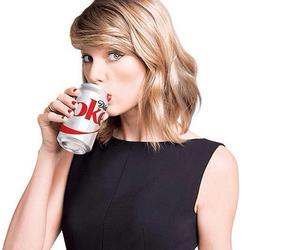 Taylor Swift and diet coke image
