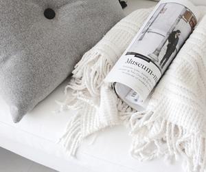 white, magazine, and grey image