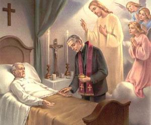 angels, Catholic, and Christ image