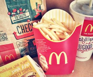 food, mac, and McDonalds image