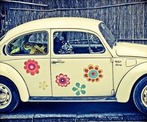 car, vintage, and cool image