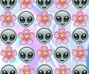 wallpaper, background, and alien image