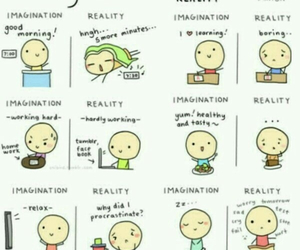 daily life, imagination, and reality image