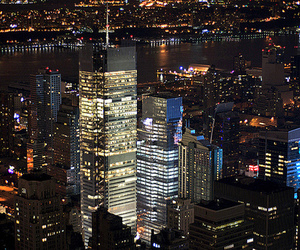 city, night, and luxury image