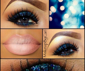 makeup, fashion, and cute image