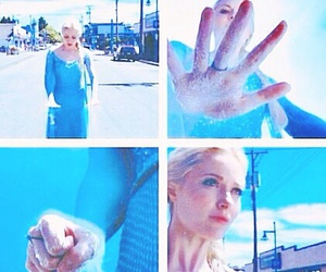 i, once upon a time, and elsa image