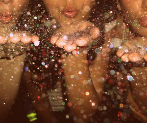 glitter, sparkle, and friends image