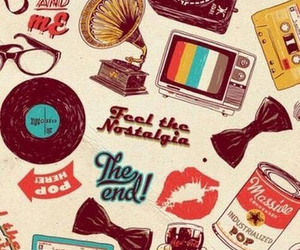 wallpaper, vintage, and retro image