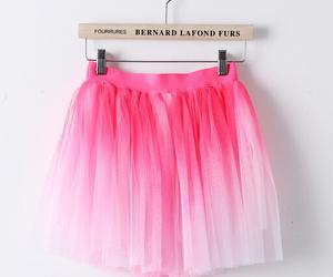 skirt, fashion, and pink image