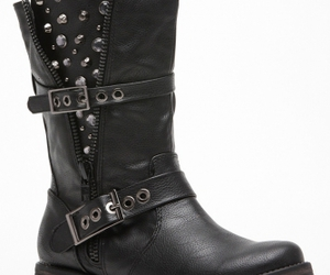 riding boots, rider boots, and black rider boots image