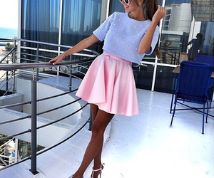 fashion, pastel colours, and cute outfit image