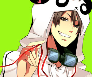 anime and panda image