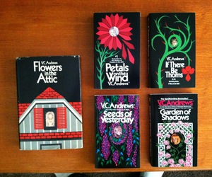 book, flowers in the attic, and vc andrews image