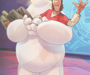 disney, baymax, and Fred image