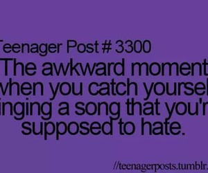 teenager post, song, and post image