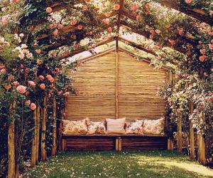 nature, pink, and vintage image