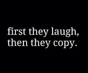 copy, laugh, and quote image