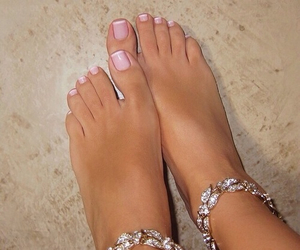 fetish, pedicure, and foot image