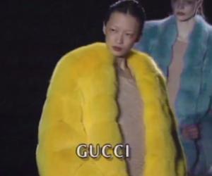gucci, yellow, and fashion image