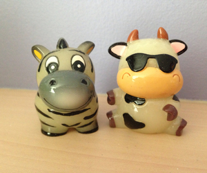 animals, bffs, and cow image