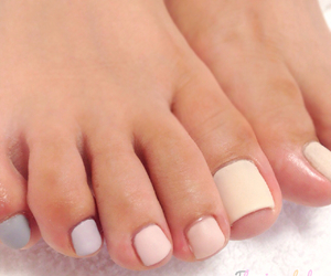nails and pedicure image
