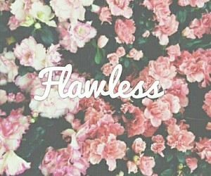 flawless, flowers, and background image