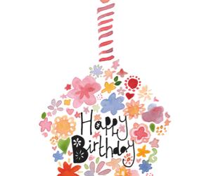 happy birthday, birthday, and cupcake image