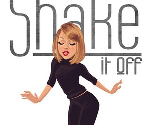 shake it off, Taylor Swift, and drawing image