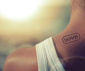 tattoo, Tatts, and love image