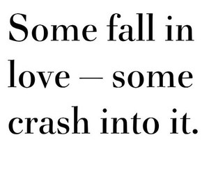 love, crash, and quote image