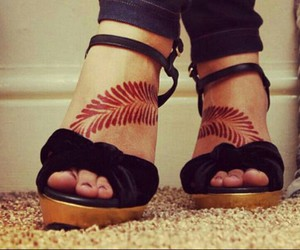 Mehndi Ankle Boots : Images about mehndi designs on we heart it see more