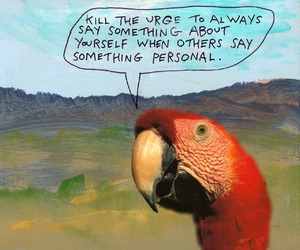 quotes, bird, and words image